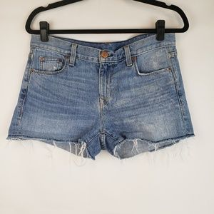 J crew Women's denim shorts Cutoff Size 26